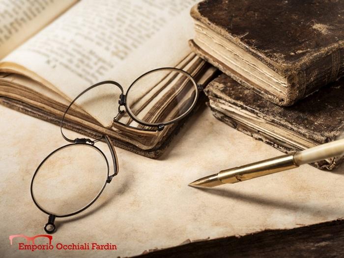 Fardin la storia degli occhiali